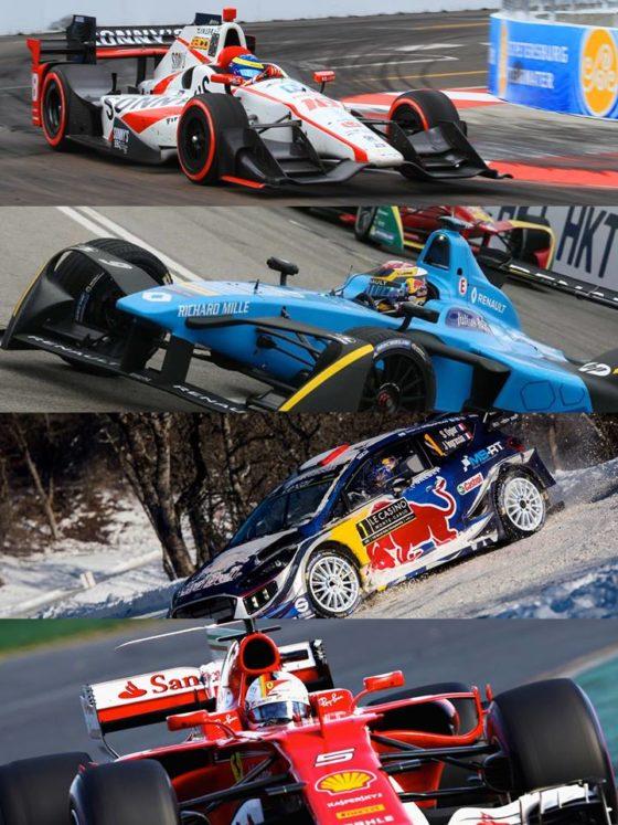 Τι κοινό έχουν F1, WRC, Formula E και Indycar φέτος;