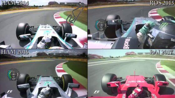 Η F1 έχει γίνει πολύ πιο γρήγορη στην υβριδική της εποχή (vid)