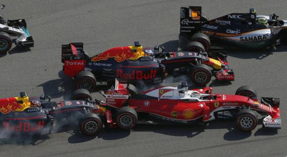 Όταν ο Kvyat έπαιξε συγκρουόμενα με τον Vettel το 2016 στη Ρωσία (vid)
