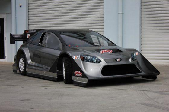 """Αυτό το """"φουσκωμένο"""" Ford Focus θα τρέξει φέτος στο Pikes Peak (pics)"""