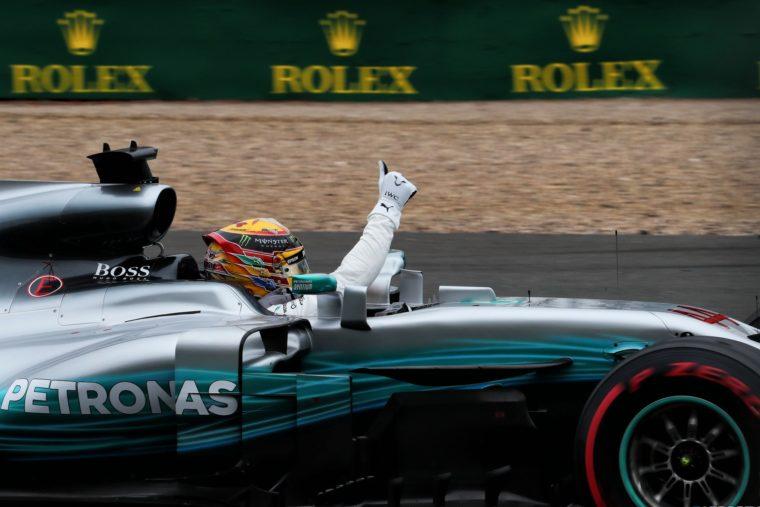 GP Μ. Βρετανίας: Ο γύρος της pole position του Hamilton (vid)