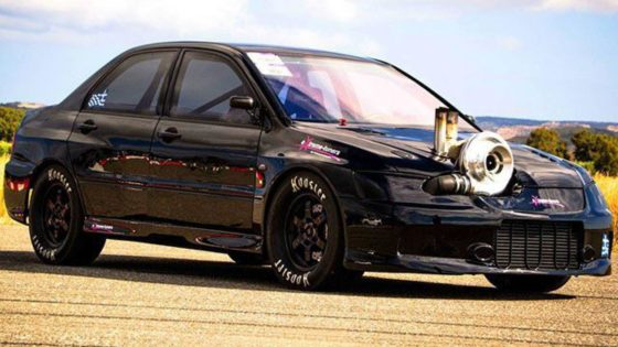 To ταχύτερο Mitsubishi Evo είναι ελληνικό και έχει 2000+ ίππους (vid)