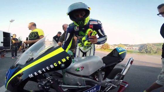 O Rossi κάνει προπόνηση ενόψει Brno (vid)