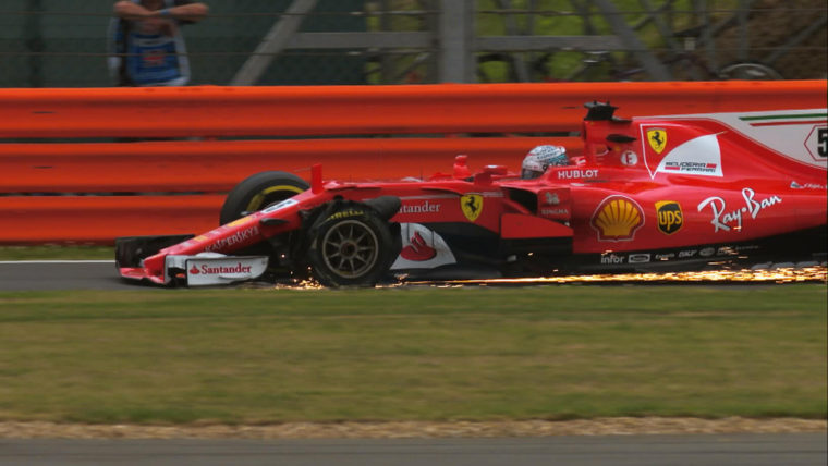 To δράμα της Ferrari στους τελευταίους γύρους στο Silverstone (vid)
