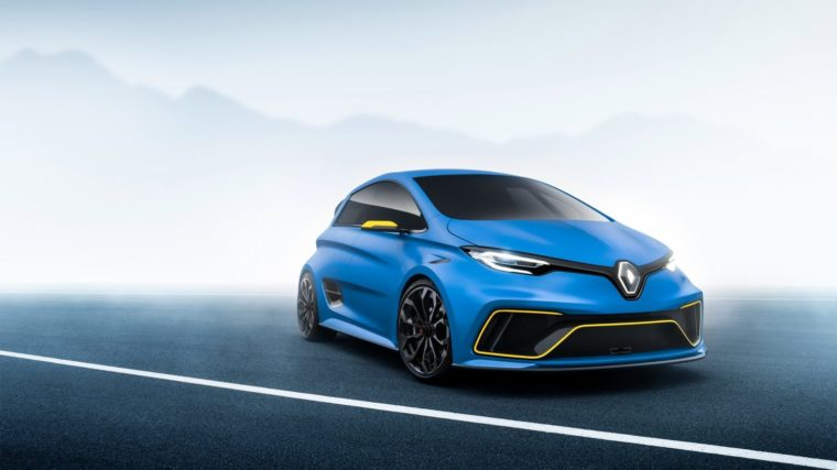 Λίγο πριν τη παραγωγή το Renault Zoe RS
