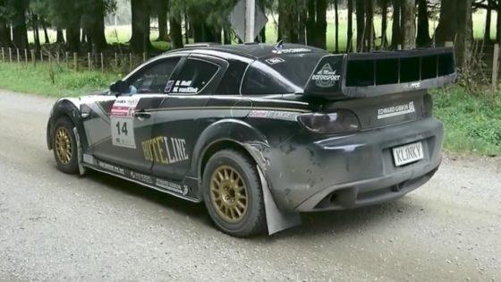 Δες και άκου αυτό το Mazda RX-8 rally car (vid)