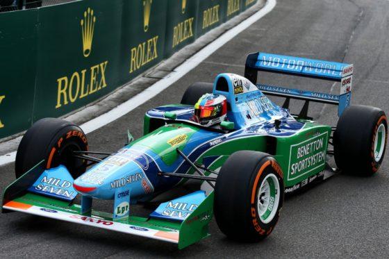 Δες τον Schumacher Jr να οδηγεί το μονοθέσιο του πατέρα του (vid)