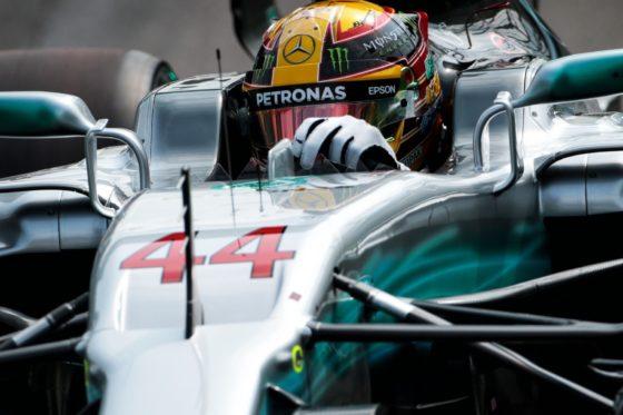 GP Ιταλίας FP1: Κυριαρχία Hamilton & Mercedes
