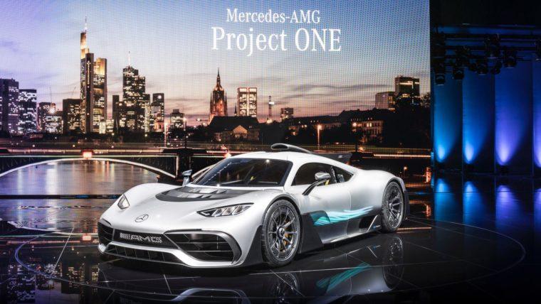 IAA 2017: Η Mercedes παρουσίασε το Project-One (photos)