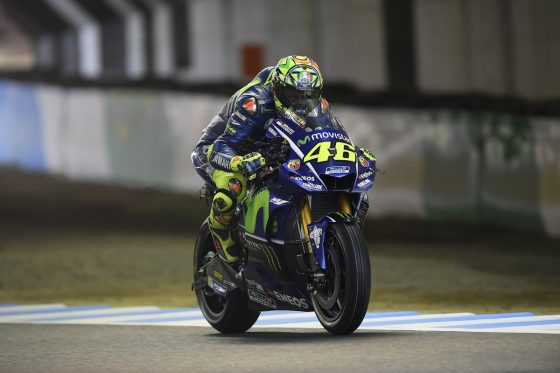 Rossi: «Τυχερός που δεν τραυμάτισα το πόδι μου»