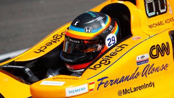 Με το κράνος του Indy 500 στο COTA o Alonso