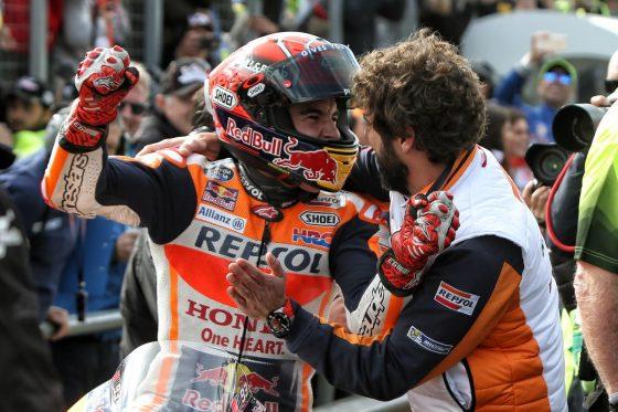 Ο Marquez απόλαυσετη βαθμολογία περισσότερο από τη νίκη