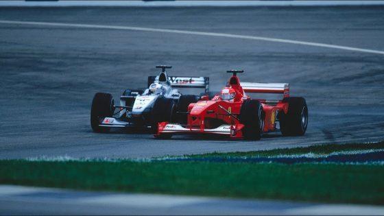 H μάχη Coulthard και Schumacher στις ΗΠΑ που θα σου προκαλέσει νοσταλγία (vid)