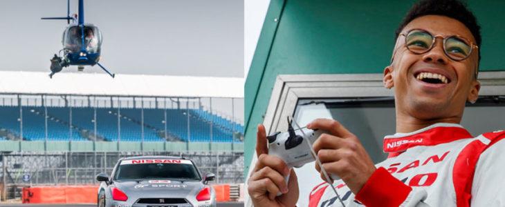 Οδήγησε ένα αληθινό Nissan GT-R με χειριστήριο Playstasion (vid)