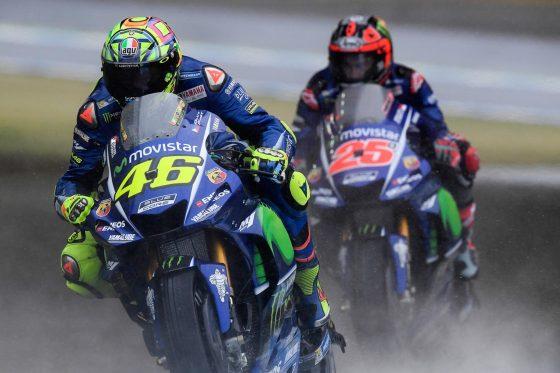 Παράπονα για τα ελαστικά έχει ο Rossi