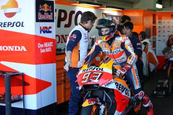 Με χαμόγελο από τις δοκιμές φεύγει ο Marquez