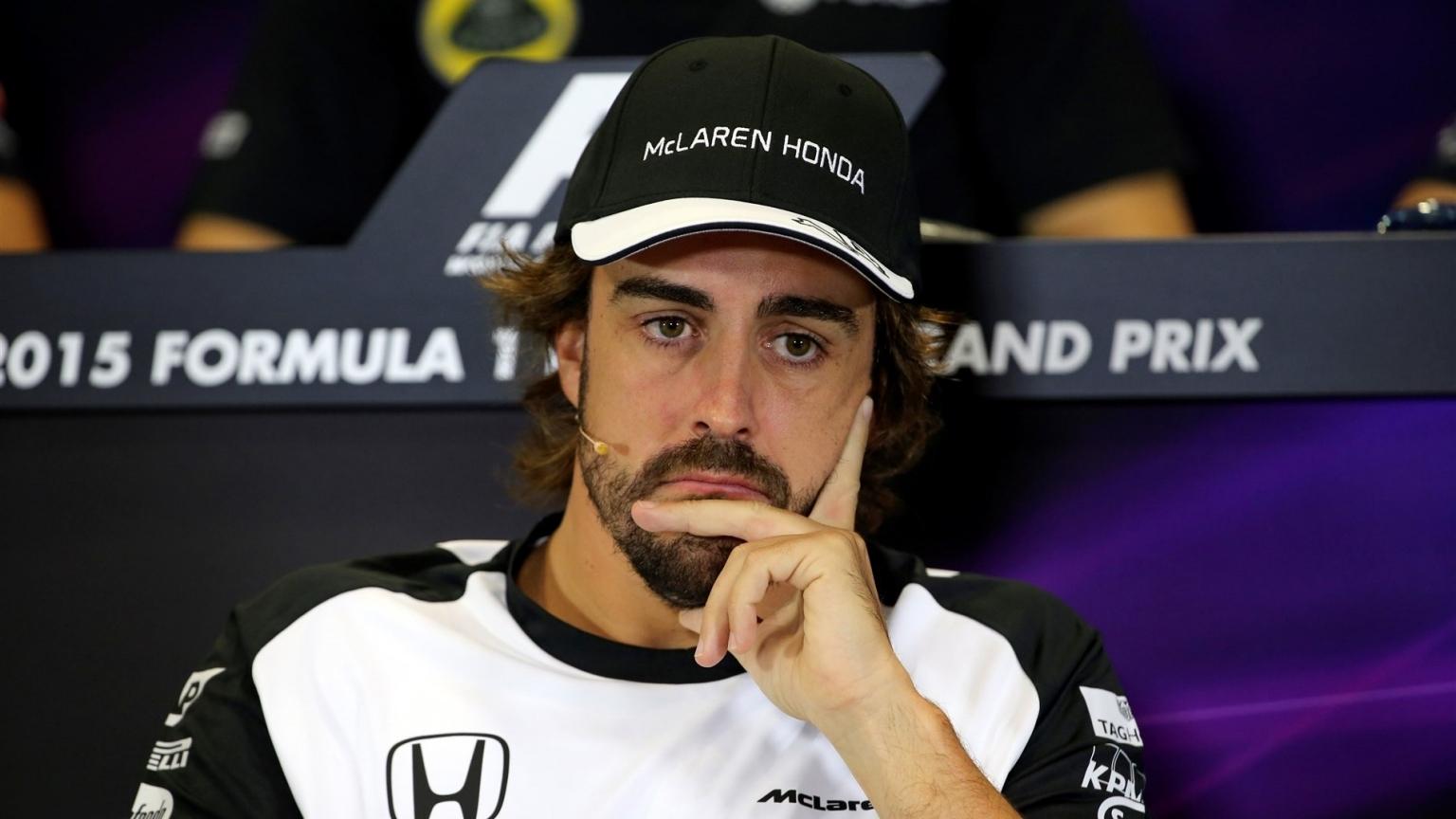 Alonso GP2 engine