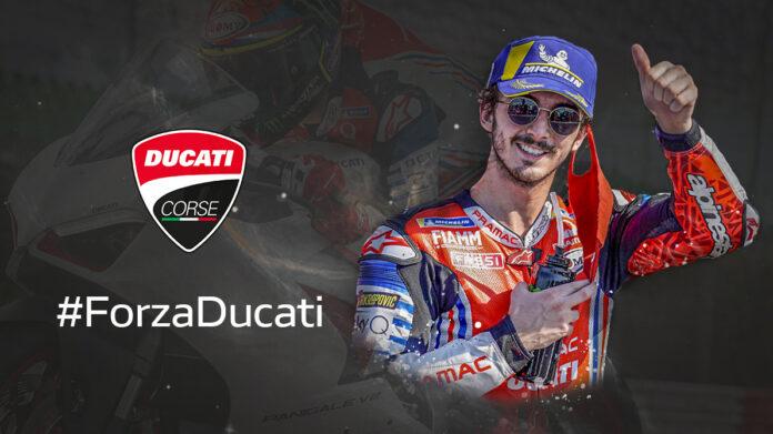 Bagnaia Ducati