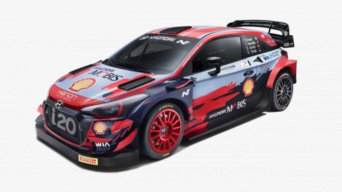 WRC 2021 Hyundai