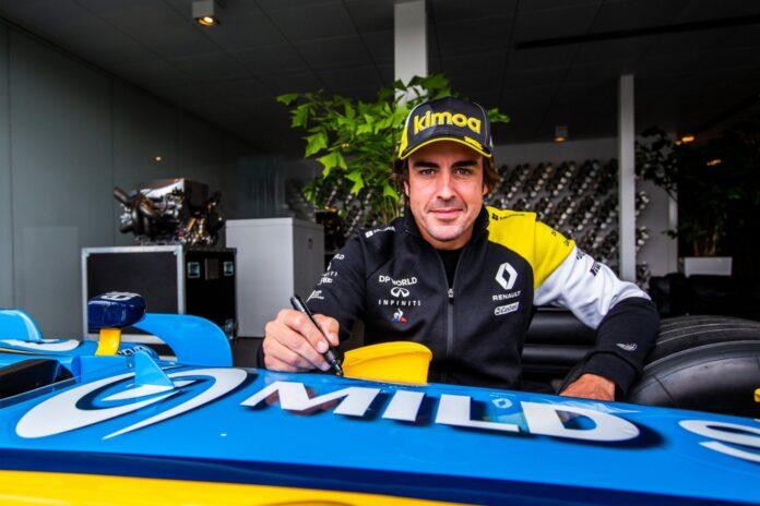 Alonso επιστροφή
