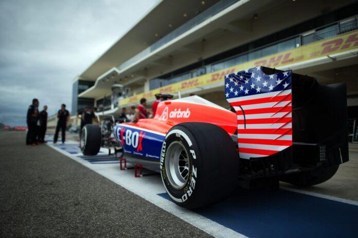 Formula 1 Αμερικανό οδηγό