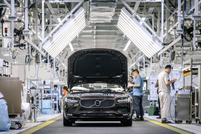 τομέας της αυτοκινητοβιομηχανίας