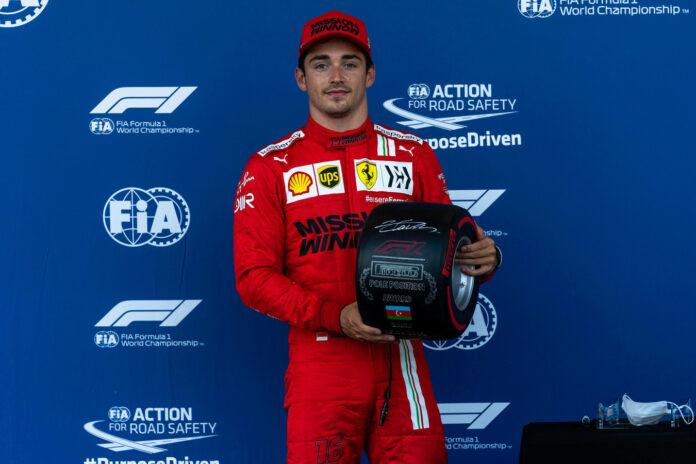 Leclerc αγώνα