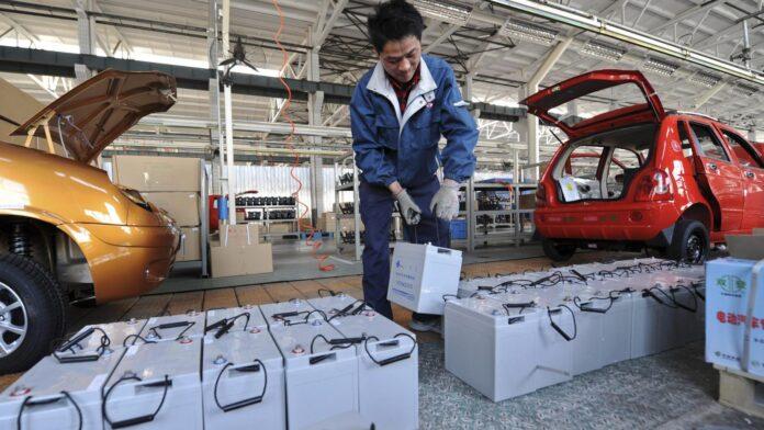 ανακύκλωσης μπαταριών ηλεκτρικών αυτοκινήτων